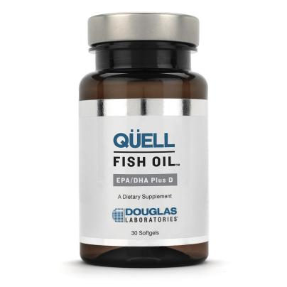 Quell Fish Oil EPA/DHA plus Vitamin D - Douglas Labs