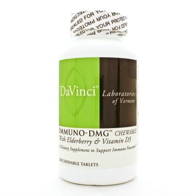 Immuno-dmg (chewable) W/elderberry And Vit D3, Davinci Labs