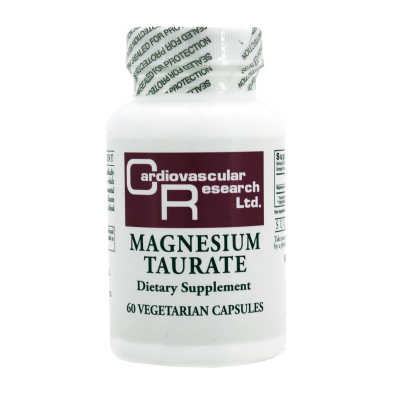 Magnesium Taurate 125mg - Ecological Formulas/Cardiovascular Research