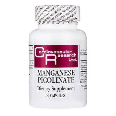 Manganese Picolinate 20mg - Ecological Formulas/Cardiovascular Research