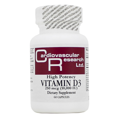Vitamin D3 10,000iu - Ecological Formulas/Cardiovascular Research