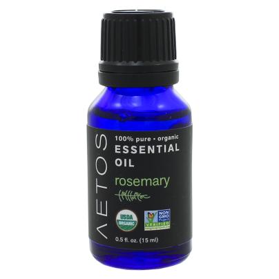 Rosemary Essential Oil 100% Pure, Organic, Non-GMO - Aetos Essential Oils