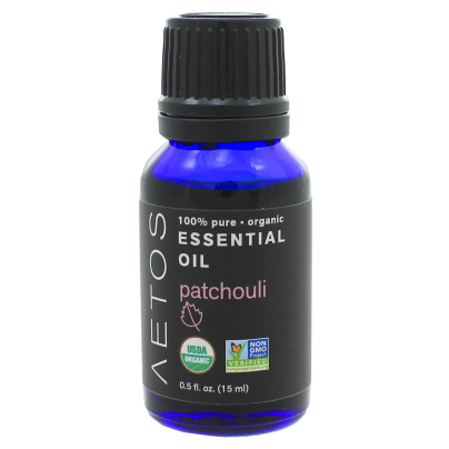 Patchouli Essential Oil 100% Pure, Organic, Non-GMO - Aetos Essential Oils