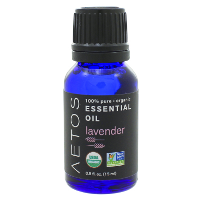 Lavender Essential Oil 100% Pure, Organic, Non-GMO - Aetos Essential Oils