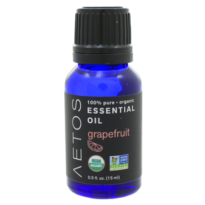 Grapefruit Essential Oil 100% Pure, Organic, Non-GMO - Aetos Essential Oils