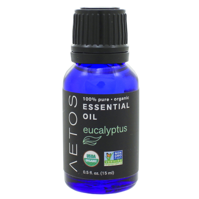 Eucalyptus Essential Oil 100% Pure, Organic, Non-GMO - Aetos Essential Oils