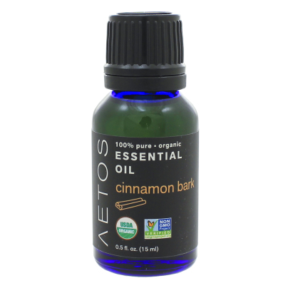 Cinnamon Bark Essential Oil 100% Pure, Organic, Non-GMO - Aetos Essential Oils
