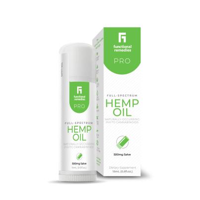 Full Spectrum Hemp Oil 500mg Salve - Functional Remedies