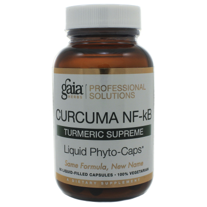 Curcuma NF-kB: Turmeric Supreme - Gaia Herbs/Professional Solutions