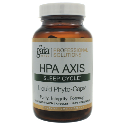 HPA Axis: Sleep Cycle - Gaia Herbs/Professional Solutions