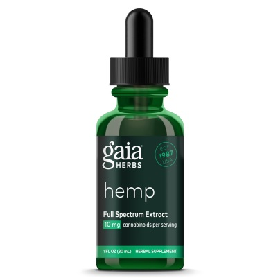Gaia Herbs Hemp Full Spectrum Extract 10 mg/Ml - Gaia Herbs/Professional Solutions