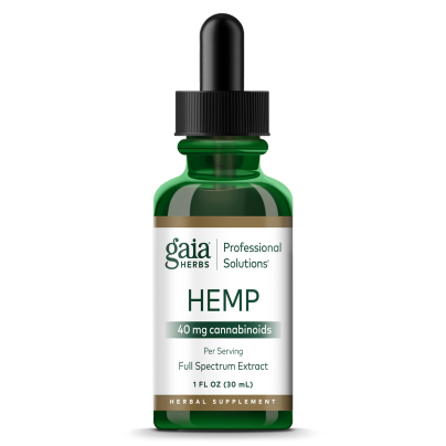 Gaia Herbs Hemp Full Spectrum Extract 40 mg/mL - Gaia Herbs/Professional Solutions