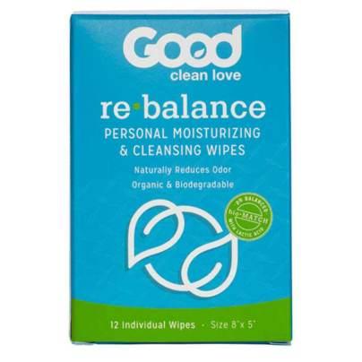 ReBalance Wipes - Good Clean Love