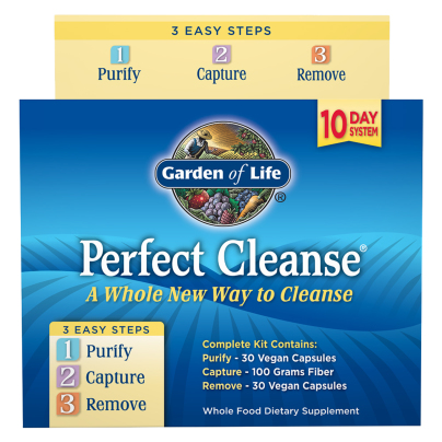 Perfect Cleanse with Organic Fiber Kit - Garden of Life