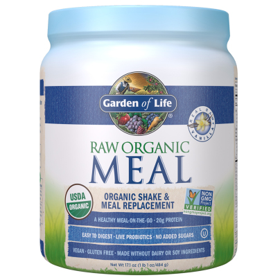 RAW Organic Meal - Vanilla - Garden of Life