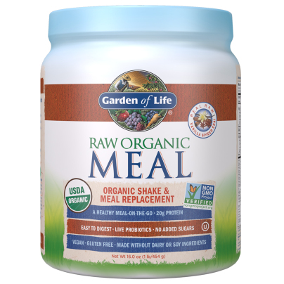 RAW Organic Meal - Real Raw Vanilla Spiced Chai - Garden of Life