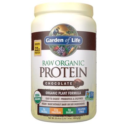 RAW Organic Protein - Real Raw Chocolate - Garden of Life