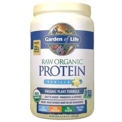 RAW Organic Protein - Real Raw Vanilla product image