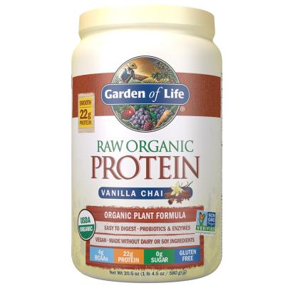 Raw Organic Protein Powder Vanilla Spiced Chai - Garden of Life