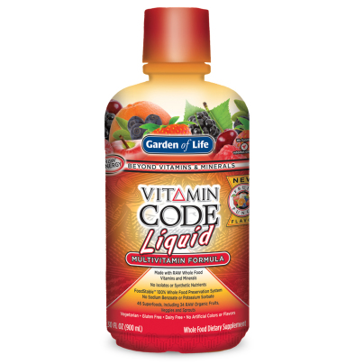 Vitamin Code Liquid Multi Fruit Punch - Garden of Life