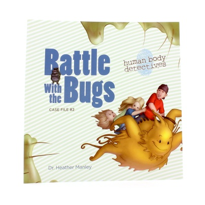Human Body Detectives: Battle with the Bugs Story Book - Human Body Detectives