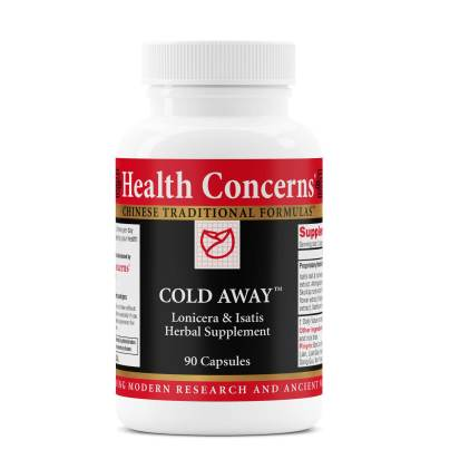 Cold Away - Health Concerns