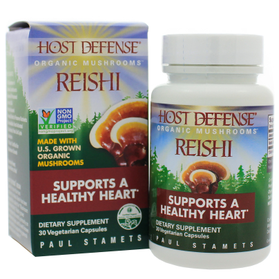 Reishi (Ganoderma lucidum) - Host Defense