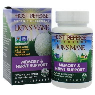 Lions Mane (Hericium erinaceus) - Host Defense
