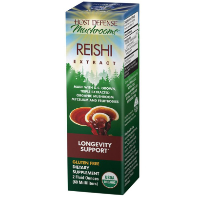 Reishi Extract- Longevity Support - Host Defense