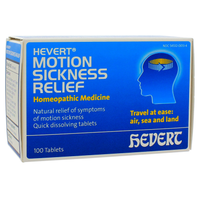 Hevert Motion Sickness Relief - Hevert Pharmaceuticals