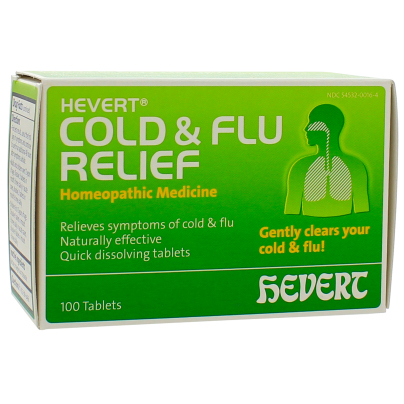 Hevert Cold and Flu Relief - Hevert Pharmaceuticals