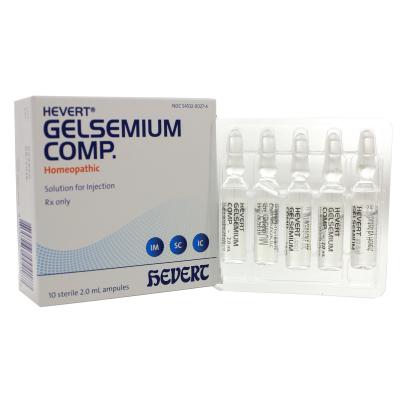 Hevert Gelsemium Comp. Rx - Hevert Pharmaceuticals