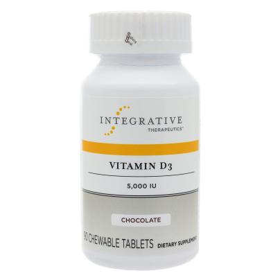 Vitamin D3 5000IU Chewable/Chocolate - Integrative Therapeutics