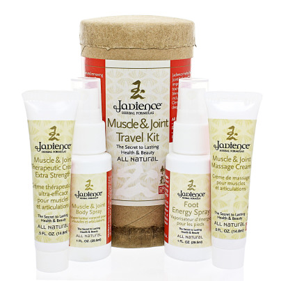 Muscle and Joint Travel Kit - Jadience Herbal Formulas