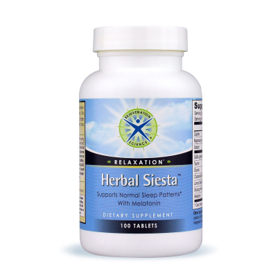 Herbal Siesta™ 100t - Rejuvenation Science