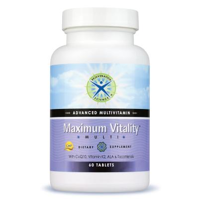 Maximum Vitality® Multivitamin - Rejuvenation Science