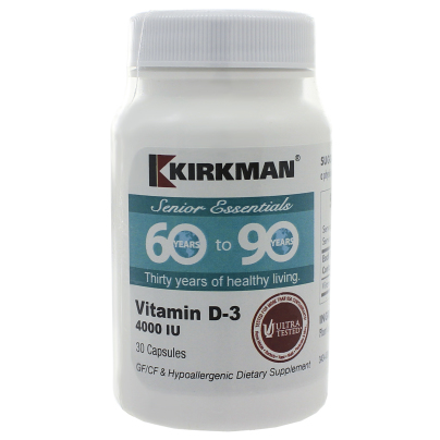 60 to 90 Vitamin D3 4000 IU product image