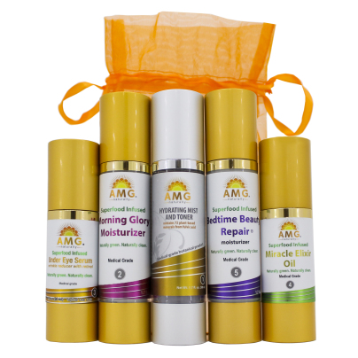 5 Step Skin Care Kit - AMG Naturally