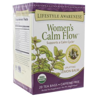 Womens Calm Flow - Lifestyle Awareness Teas