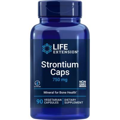 Strontium 750mg - Life Extension