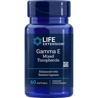 Gamma E Tocopherol w/Sesame Lignans - Life Extension