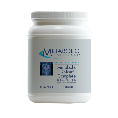 Metabolic Detox Complete Natural Chocolate - Metabolic Maintenance