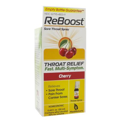 ReBoost Throat Spray - MediNatura