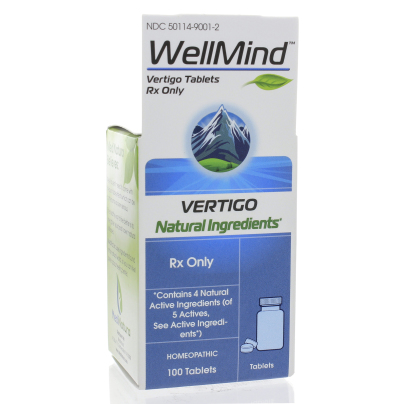 WellMind Vertigo Rx 100t - MediNatura