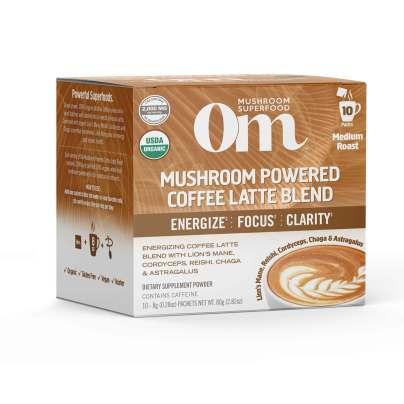 Mushroom Powered Coffee Latte product image