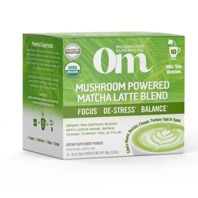 Mushroom Powered Matcha Latte product image