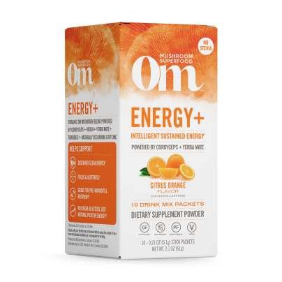 Energy + Citrus Orange Mushroom Superfood Drink Stick product image