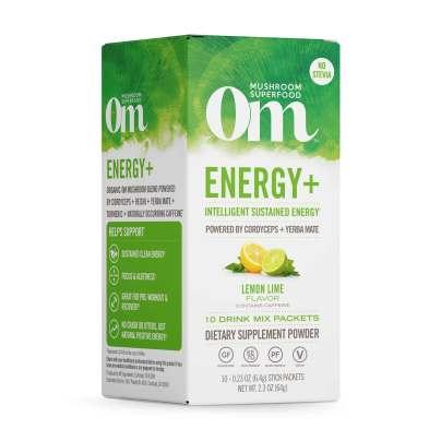 Energy + Lemon Lime Mushroom Superfood Drink Stick product image