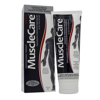 Max  Strength Pain Relieving Ointment, Musclecare Products