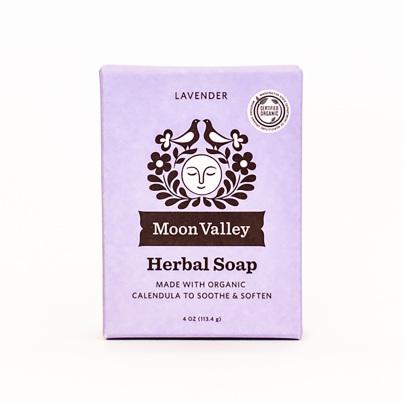 Cleansing Body Bar Lavender Calendula - Moon Valley Organics